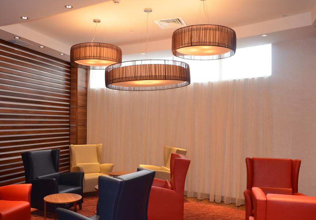 Hotel Lighting In Hampton By Hilton