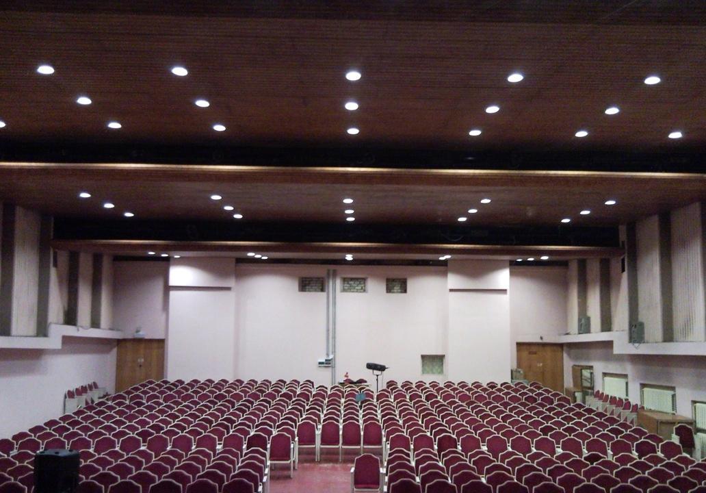 Освещение актового зала