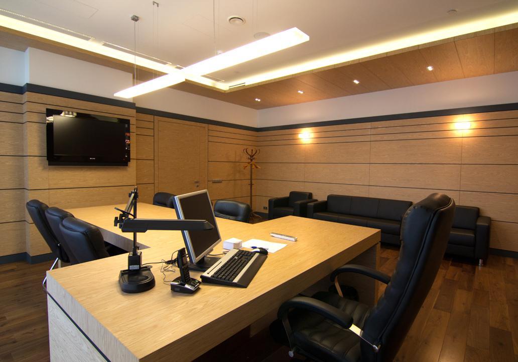 Рабочие помещения без естественного освещения