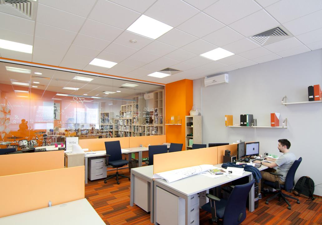 office lighting project foe design solutions