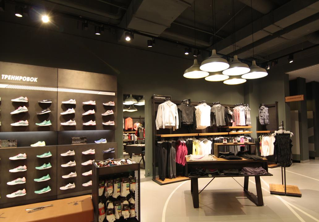 Nike store lighting project 888b69f7a