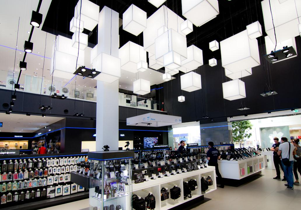 Technopark Store Lighting Project