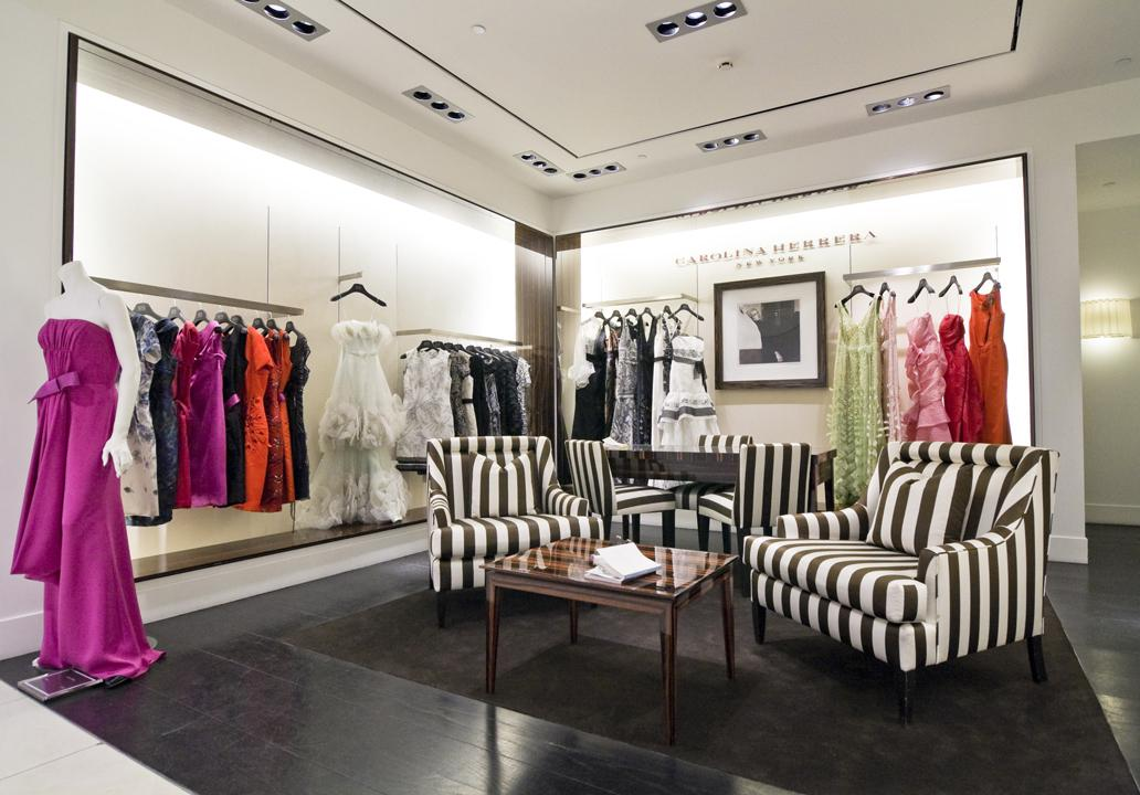 The Carolina Herrera shop project