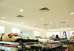 mothercare store lighting